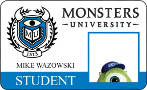 Monsters University Mike Wazowski Quotes