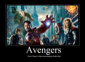 Avengers Motivational Poster by sabrinaxD