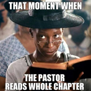 Pentecostal Funny