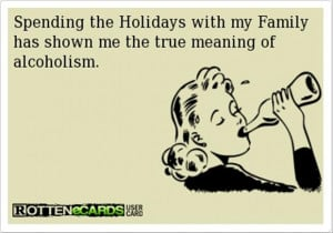 drinking wine this holiday, funny christmas pictures