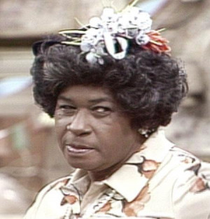 ... Who was Esther Anderson and how was she related to Fred Sanford