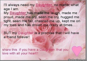 My Daughter is a Friend Forever