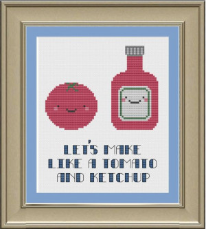 ... ://www.etsy.com/listing/154849698/lets-make-like-a-tomato-and-ketchup