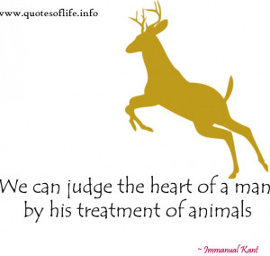 his treatment of animals immanuel kant quotes quote quotations
