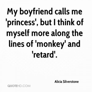 Alicia Silverstone Dating Quotes | QuoteHD