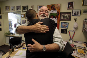 Fr. Greg Boyle S.J. is one of our heroes. He runs the largest and most ...