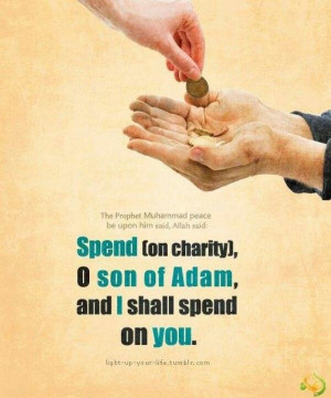 Charity in Islam. Islam Quotes Reminder, Allahu Akbar, Islamic Quotes ...