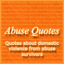 Abuse Quotes From Survivors