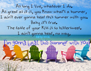 country quotes about summer