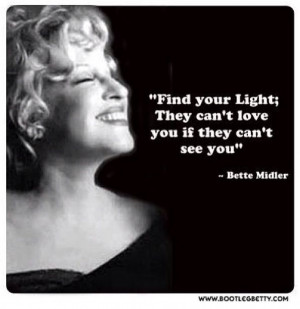Bette Midler (Taken from theatreproblems on instagram)