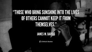 Sunshine Quotes Those...