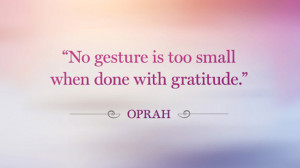 Gratitude Quotes And Sayings Oprah Gratitude Quote