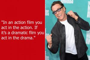Dumb Celebrity Quotes – Jean-Claude Van Damme