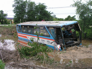 Related Pictures bike bus accident funny but amazing india pictures ...
