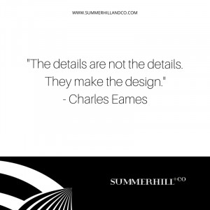 "The details are not the details. They make the design."" – Charles ..."