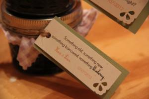 wedding favors sayings