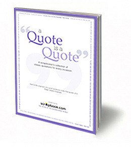 Quote Is A Quote (E-Book) - Scrapbooking Quotes