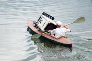 Funny Canoe Grushinskiy...