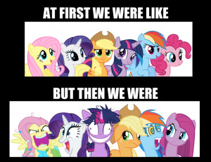 My Little Pony Friendship is Magic Ponies!