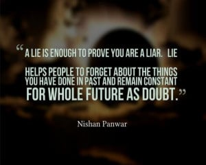 25 Unquestionable Quotes About Liars