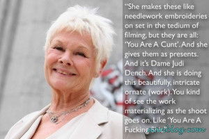 Judi-Dench-makes-and-quote