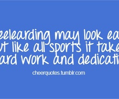 Cheerleading Team Quotes