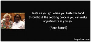 More Anne Burrell Quotes