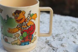 vintage muppets mug