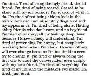 Tired Quotes Tumblr Tired quotes