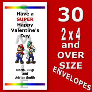 mario valentine cards