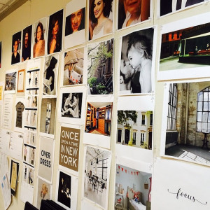 Nancy Meyers' Inspiration Board for The Intern