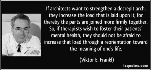 If architects want to strengthen a decrepit arch, they increase the ...