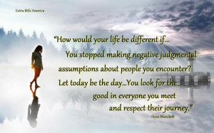 How would your life be different if…You stopped making negative ...
