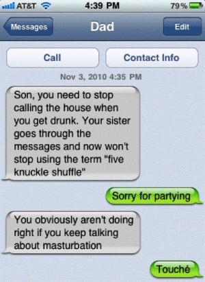 Drunk Texting Dad