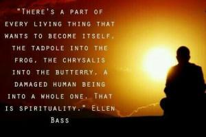 Ellen Bass becoming yourself