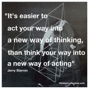 Jerry Sternin quote on creative thinking