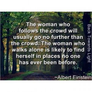 Be a Leader~ not a Follower~
