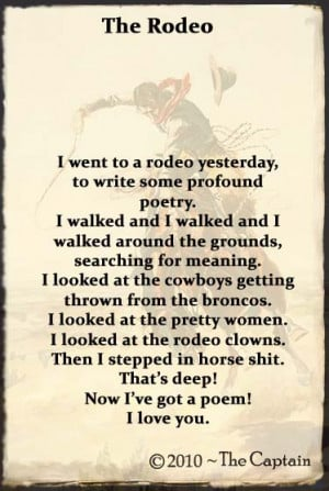 rodeo poems