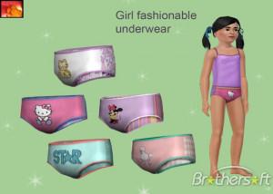 Description of Sims3 - girl underwear