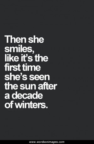 Winter Love Quotes and Sayings