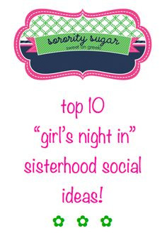 sweet on greek sisterhood social themes! ♥ BLOG LINK: sororitysugar ...