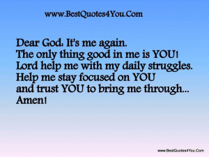 ... quotes on you and trust you to bring me through amen best quotes 4 you