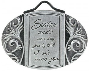 Death of a Sister Sympathy Gift