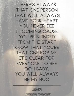 usher my boo