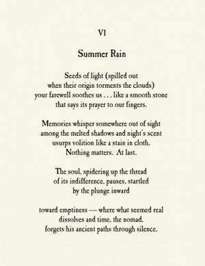 summer poems