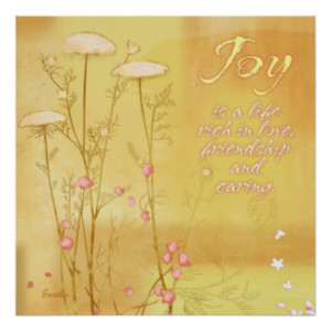 Joy Quotes Posters & Prints