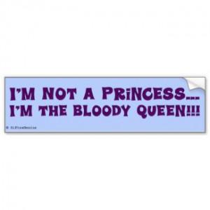 not a princess; I'm the queen. by egogenius