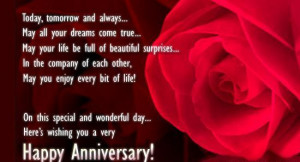 Anniversary Wishes To My Husband | Anniversary