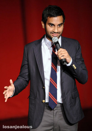 Collection of funny quotes, jokes and sayings by comedian Aziz Ansari ...