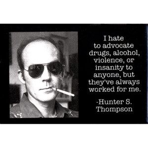 Picture of Hunter S. Thompson